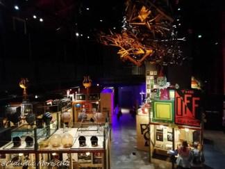 Interno del Museo del Pop di Seattle