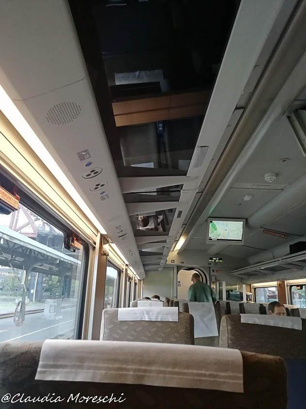 A bordo del treno Portland-Seattle