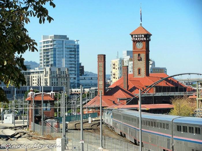 La stazione di Portland, la mia stazione di partenza