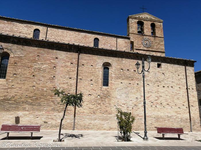 La Chiesa di San Salvatore a Morro d'Oro