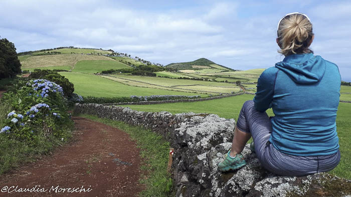 Viaggio alle Azzorre: paesaggio su Sao Jorge