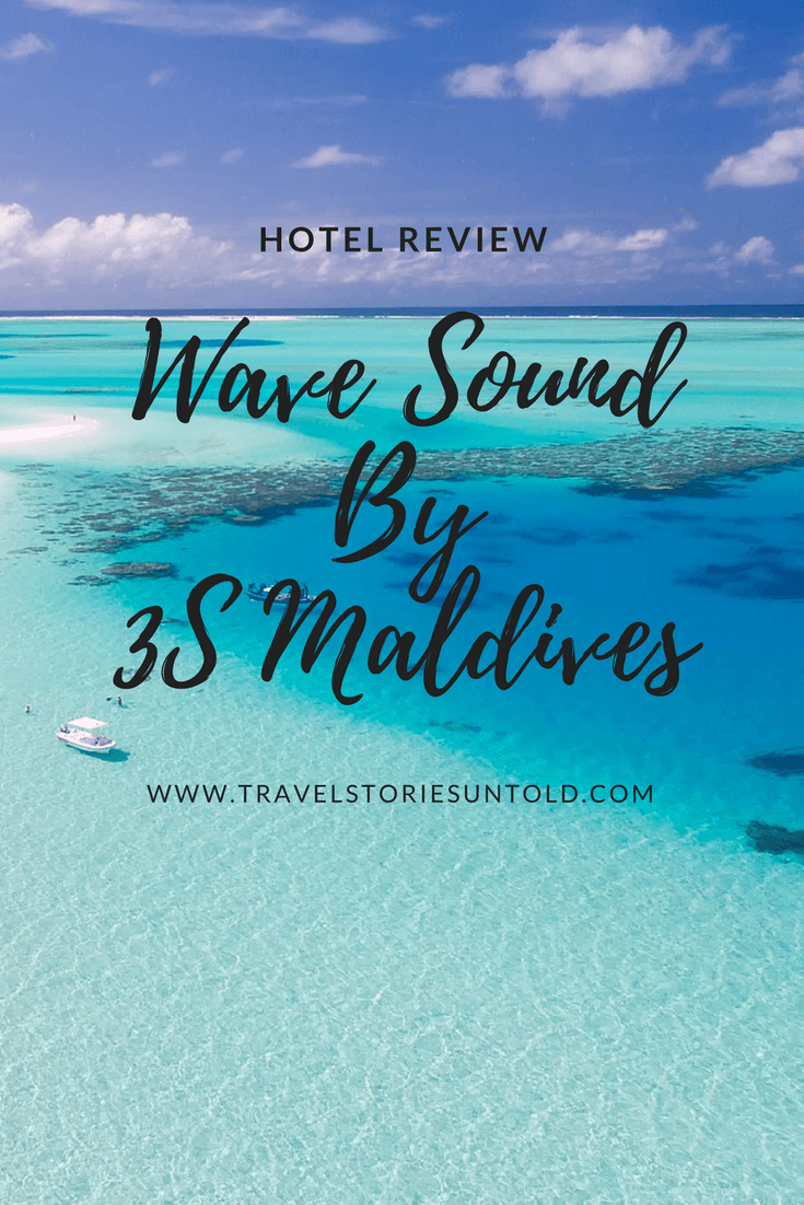 Budget Resorts in Maldives | wave sound by 3s maldives review
