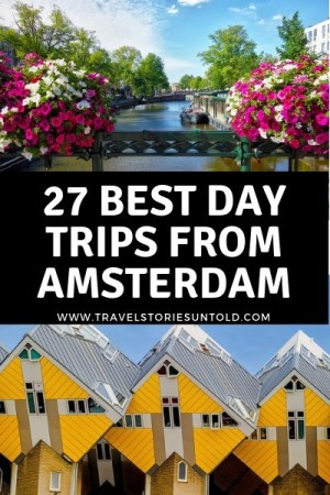 The Netherlands has many beautiful places to offer besides the gorgeous capital city. Check out 27 of the best day trips from Amsterdam in this post.