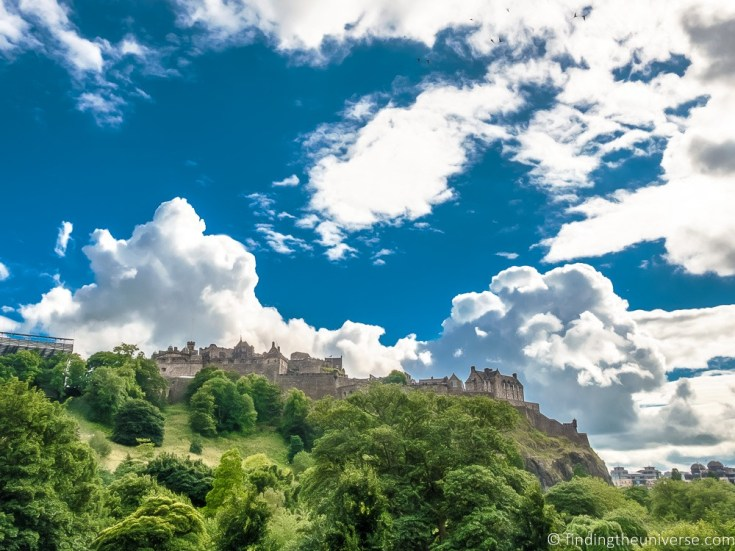 Best Scottish Castles | Edinburgh Castle