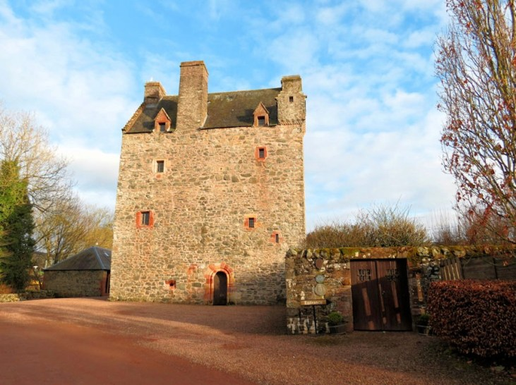 Stay in a castle in Scotland | Aikwood Tower