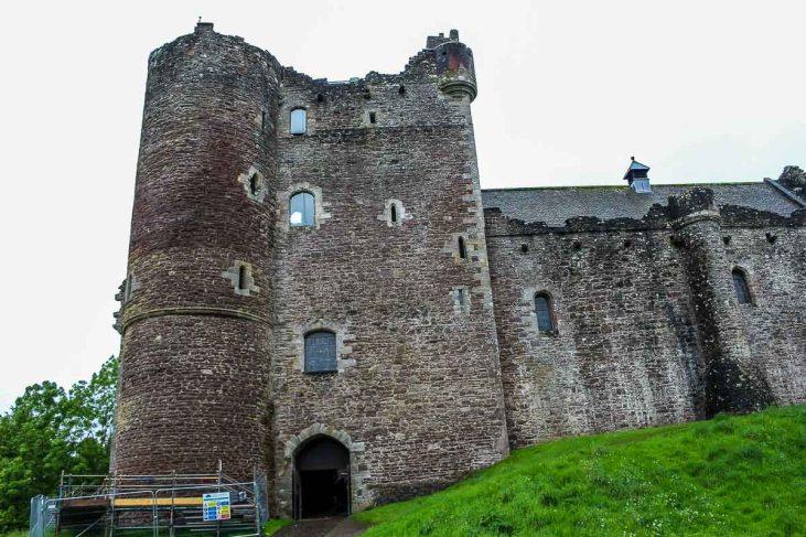Castles in Scotland   Doune Castle