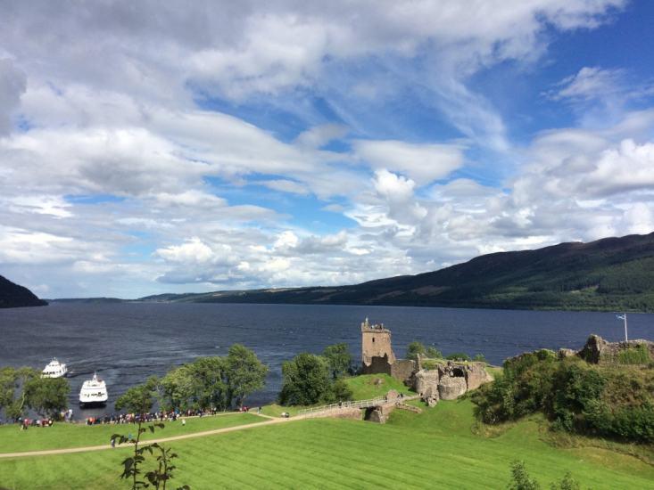 Castles in Scotland | Urquhart Castle