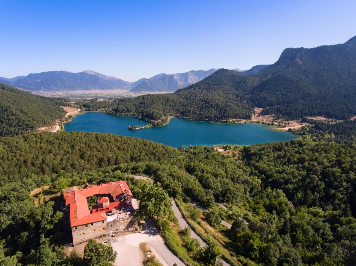 Λίμνη Δόξα ελβετία Ελλάδας