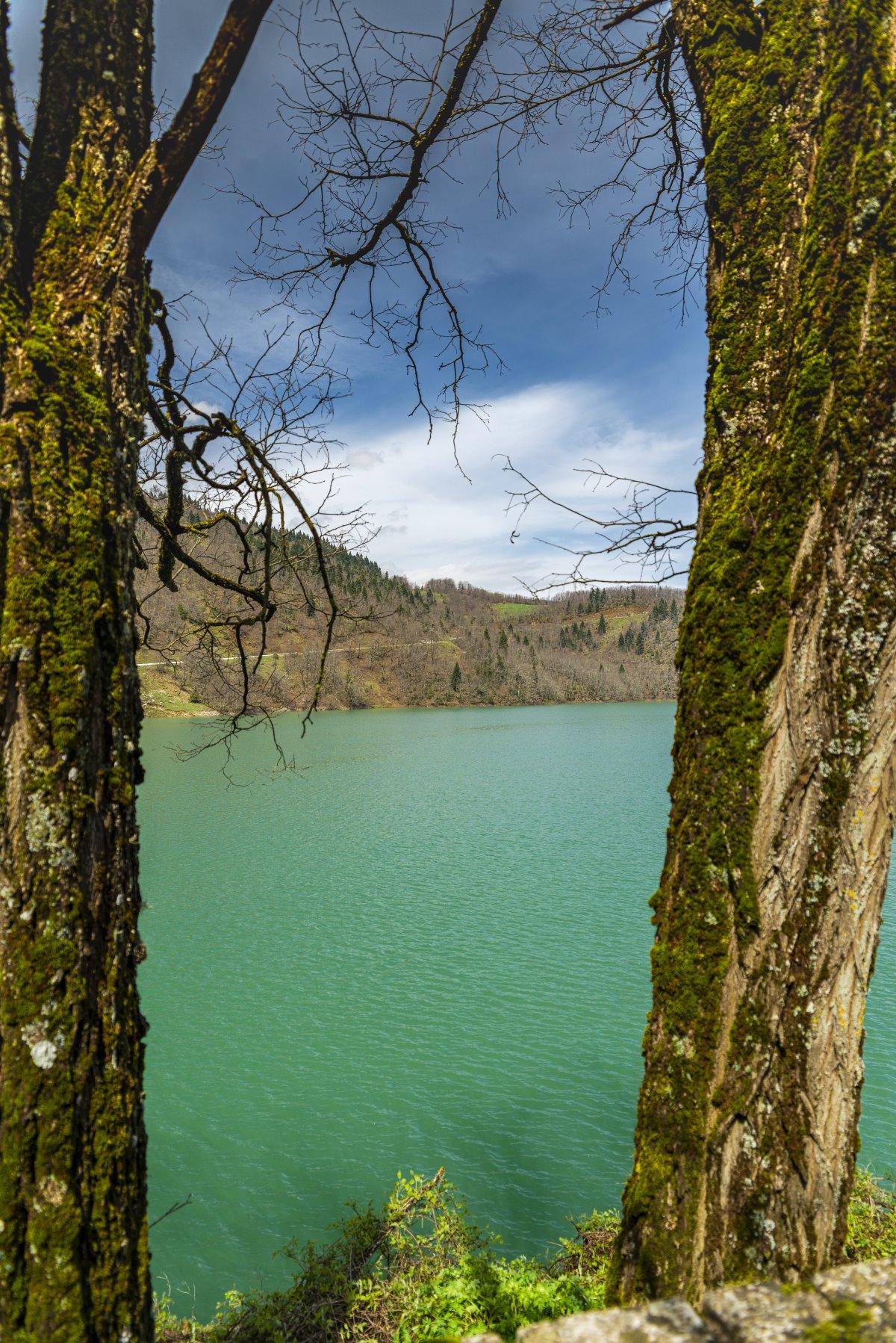 Η θέα στη Λίμνη Πλαστήρα
