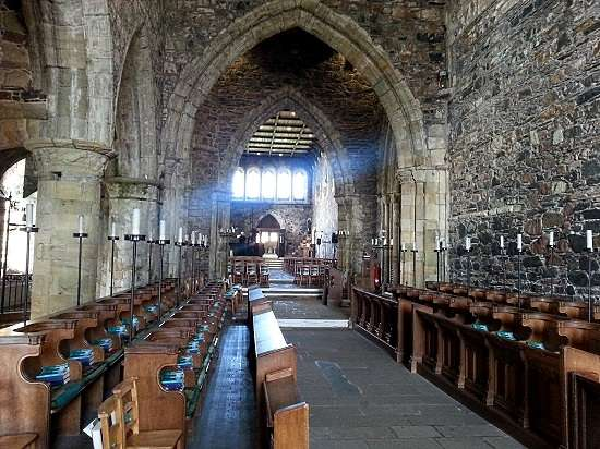 inside the abbey visit iona.