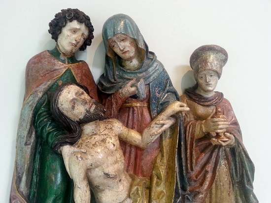 Christ depiction Burrell Collection blog.