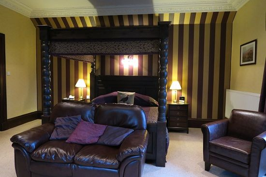 blackaddie house hotel grouse room.
