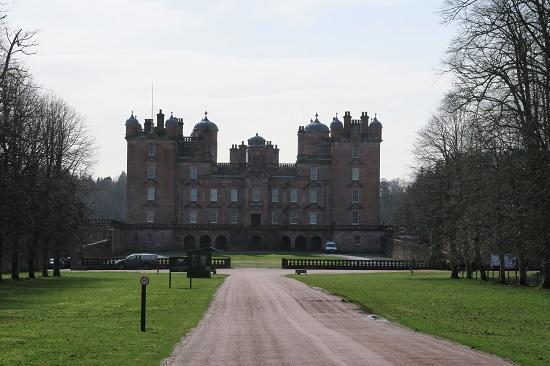 drumlanrig castle near blackaddie house hotel.