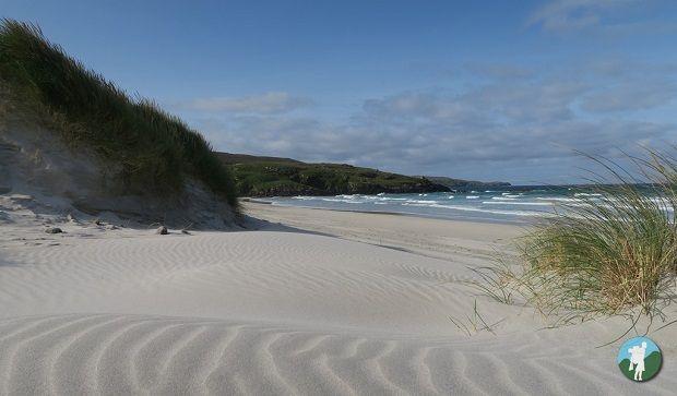 traigh eais beach visit barra