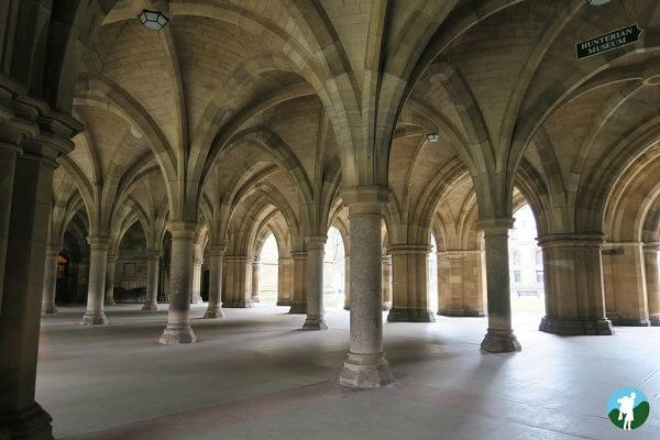 glasgow university cloisters cultural glasgow