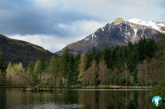 glencoe lochan scottish highland road trips