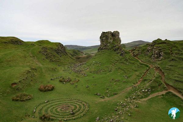 stone circle fairy glen weekend in skye