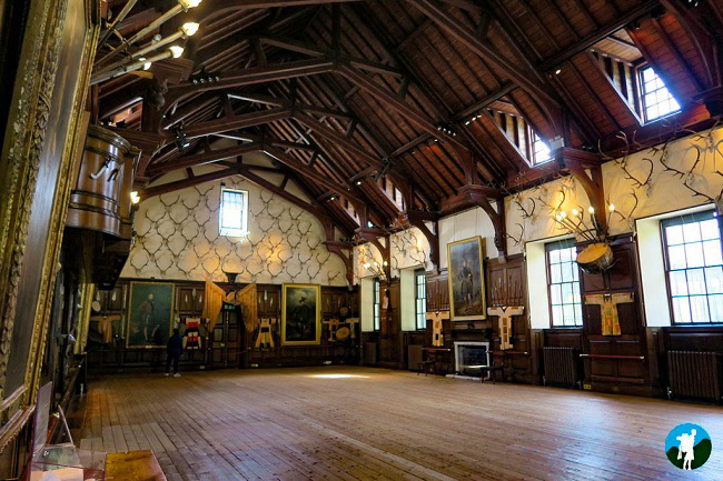 blair castle hall best of perthshire