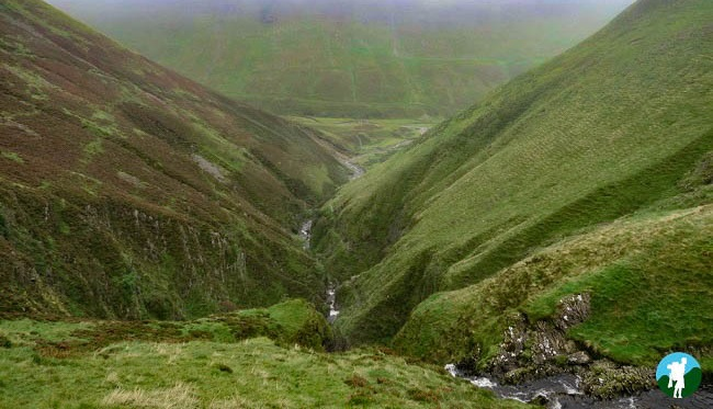 grey mare's tail view