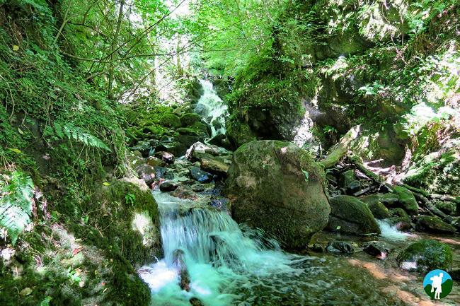 exploring dollar glen hidden waterfall