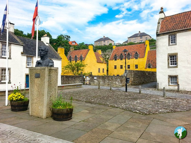 culross palace outlander filming location