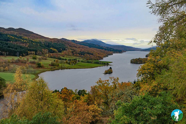 queens view pitlochry big tree country