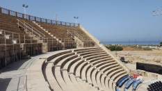 Restored Roman Theater at Caesarea