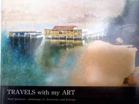 An Artist book of Noels paintings created in 2010