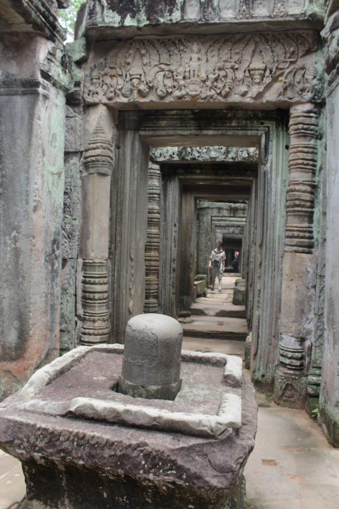 Shiva Lingam at Preah Khan