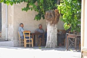 Greek Cafe in Crete