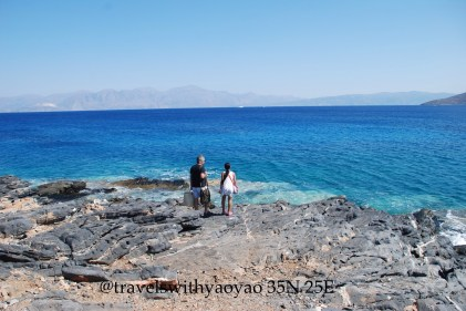 Beach on Crete, Greece