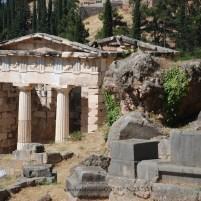 Greek Ruins in Delphi, Greece