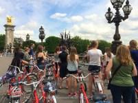 Bike Riding in Paris, France