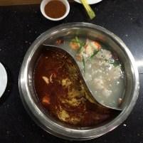 Hot Pot in Yangon, Myanmar (Burma)