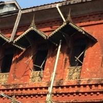 Old Railroad Station in Yangon, Myanmar (Burma)