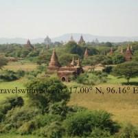 Stupas in Bagan, Myanmar (Burma)