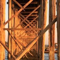 U Bein Bridge Mandalay, Myanmar