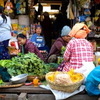 Marketplace in Mandalay, Myanmar