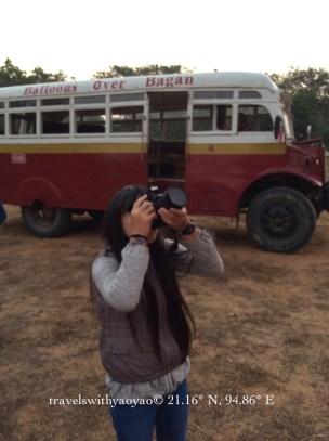 Buses & Balloons Over Bagan