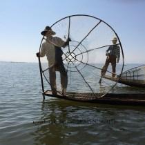 Fisherman on Inle Lake, Myanmar