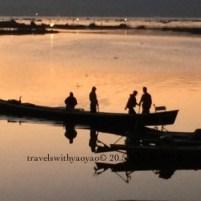 Sunset on Inle Lake, Myanmar