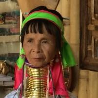 A Karen or Padaung Tribe Member in Inle Lake, Myanmar