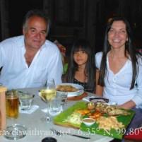 Dinner at Bon Ton on Langkawi