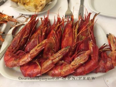 Seafood Resturant: Cervejaria Ramiro, Lisbon, Portugal