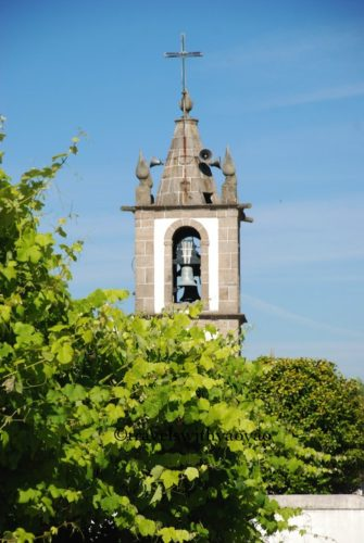 Church Bell Tower in Panque, Portugal
