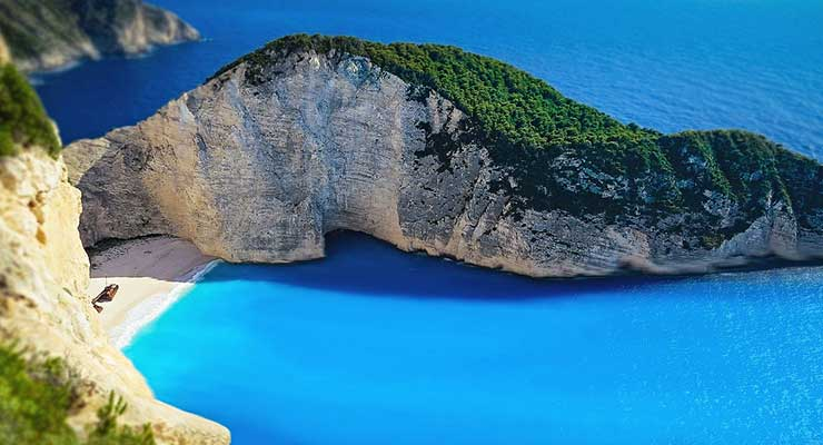 Best Beaches In The World Greece Navagio Beach 740x400