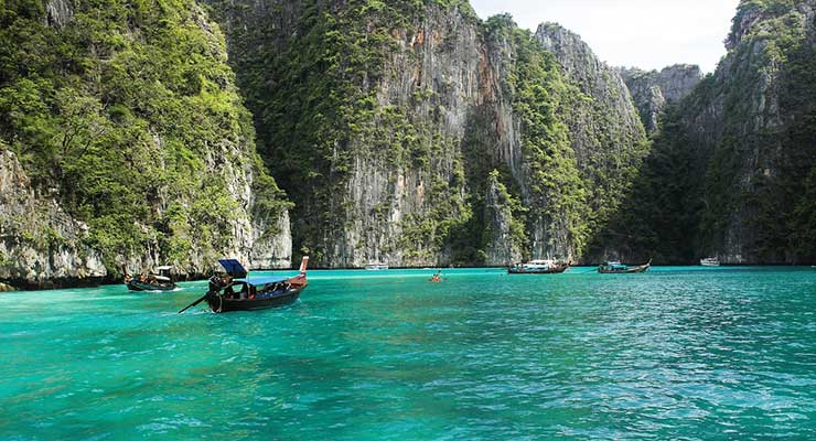 Best Beaches In The World Thailand Ko Phi Phi Beach 740x400