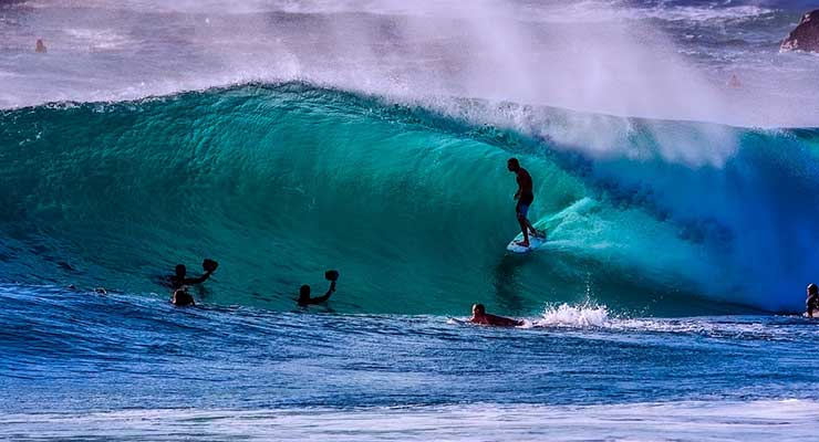 Top Countries For Best Outdoor Activities Australia Surfing 740x400