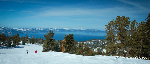 Lake Tahoe from Heavenly Ski Resort