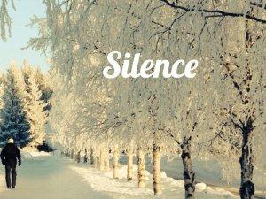 Silence in Östersund